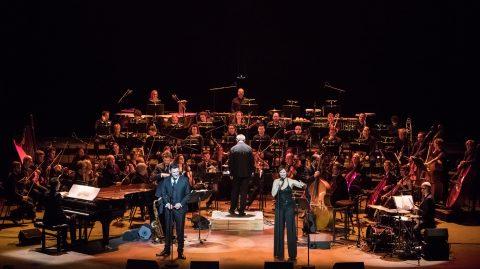« Broadway Symphonique » Théâtre des Champs-Élysées © photo V. Tonelli